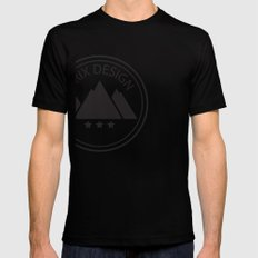 Drix Design Black Mens Fitted Tee SMALL