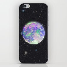 pink moon iPhone & iPod Skin