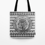 Aztec Millennium Spacesh… Tote Bag