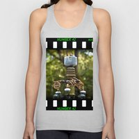 Mad Scientist Device Number 42 Unisex Tank Top