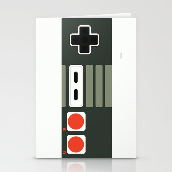 Simply NES Stationery Card