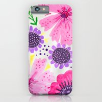 Pinks - Botanical Flower… iPhone 6 Slim Case