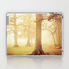 I Heard Whispering in the Woods Laptop & iPad Skin