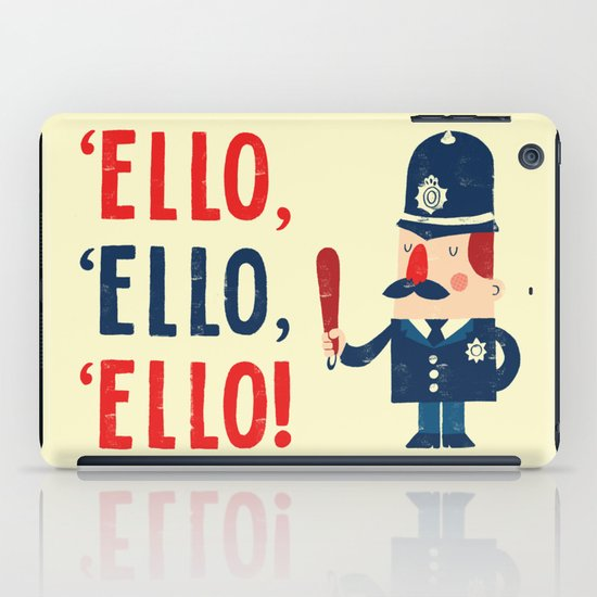 'Ello, 'ello, 'ello! iPad Case