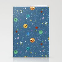 Out Of This World Cuteness Stationery Cards