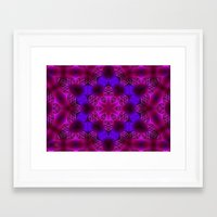 Abstract X Two Framed Art Print