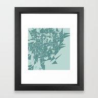 Glass MG Framed Art Print
