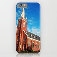 iPhone & iPod Case featuring Visitation Catholic Church by Vorona Photography