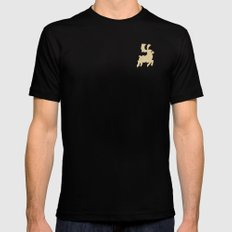 Rudolph SMALL Black Mens Fitted Tee