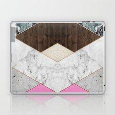 Rose Gold Chevron Laptop & iPad Skin