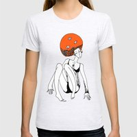 Fish Head Womens Fitted Tee Ash Grey SMALL