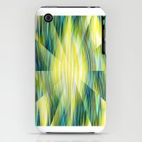 iPhone 3Gs & iPhone 3G Cases featuring Tropical Abstract by Kathleen Sartoris