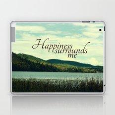 Happiness Surrounds Me Laptop & iPad Skin