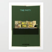 The party Directed by Blake Edwards Art Print