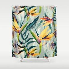 Bird Of Paradise Pattern… Shower Curtain