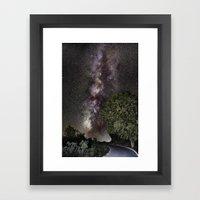 Towards the Milky way...... Framed Art Print