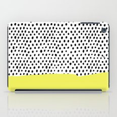 Polka dot rain dip iPad Case