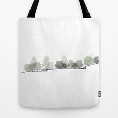 Landscape Section Tote Bag