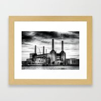 Battersea Power Station … Framed Art Print