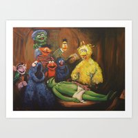 The Anatomy Lesson Of Dr… Art Print