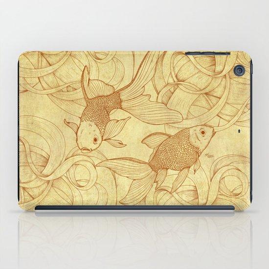 Vintage Goldfishes  iPad Case