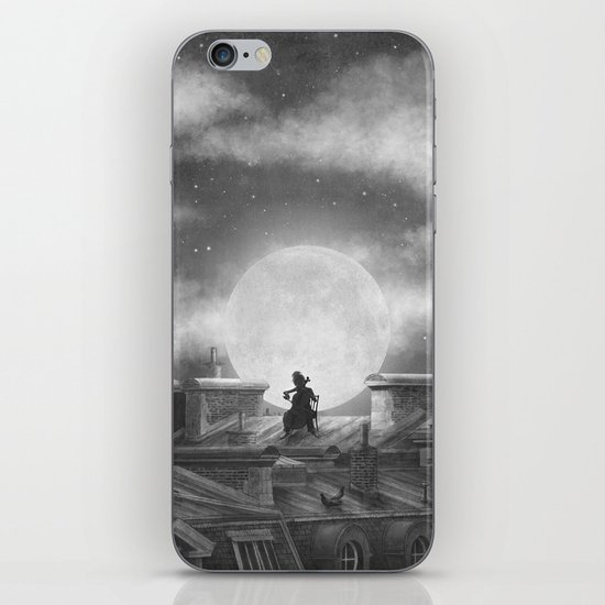 Rooftoppers (mono)  iPhone & iPod Skin