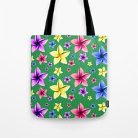 Flower Crazy Tote Bag