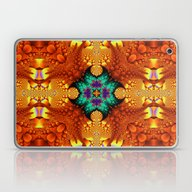 Fantasy Petals In A Kale… Laptop & iPad Skin