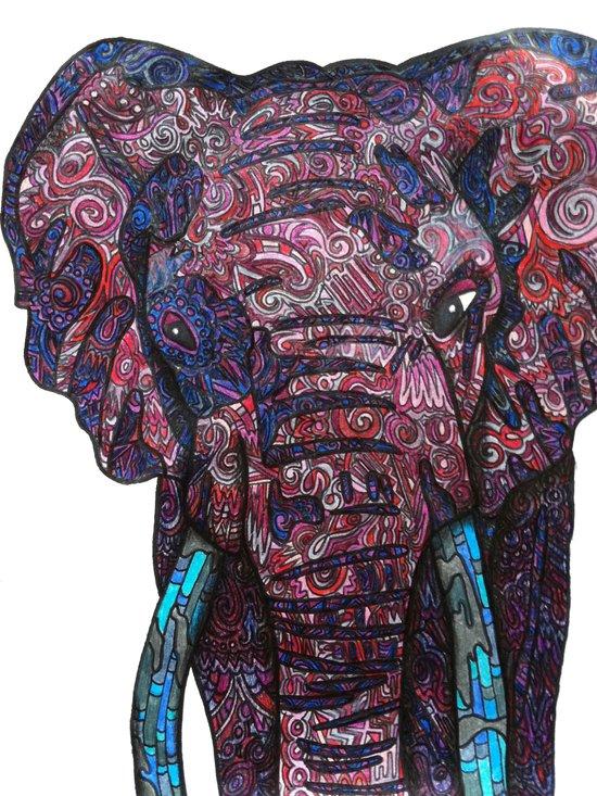 Elephant © 2012 Art Print