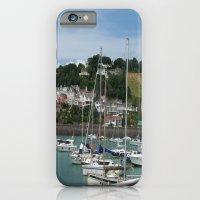 Boats in a Marina iPhone 6 Slim Case