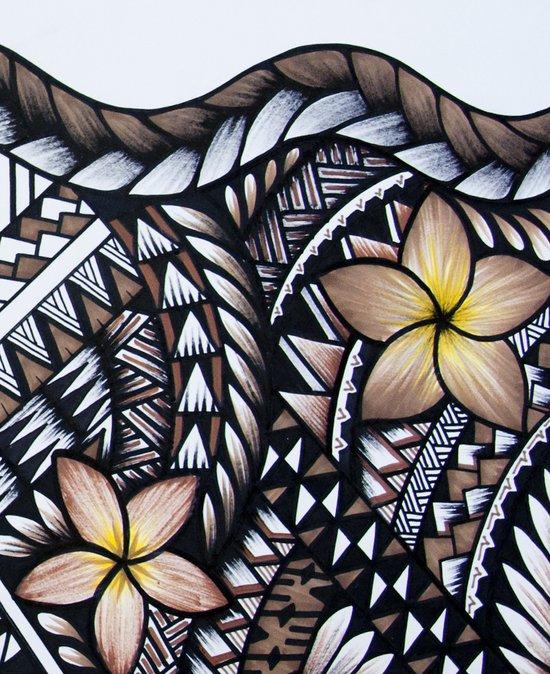 Samoan Beauty Art Print