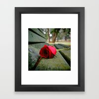 Time Has A Numbing Effec… Framed Art Print