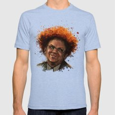 Steve Brule Mens Fitted Tee Tri-Blue SMALL