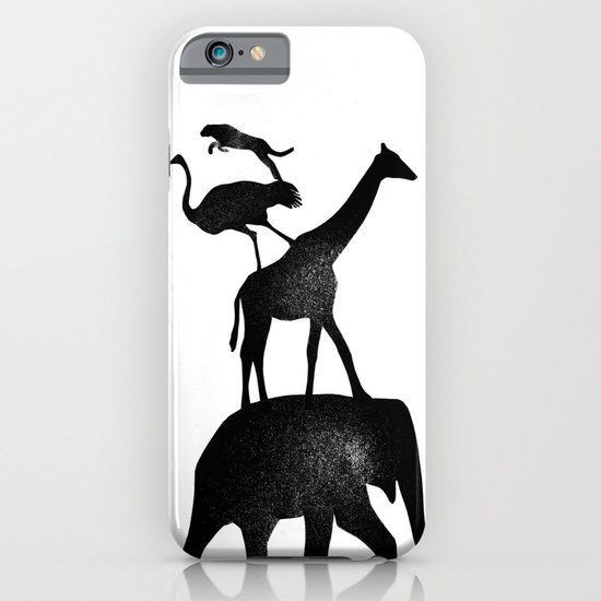 Animal Stack iPhone & iPod Case
