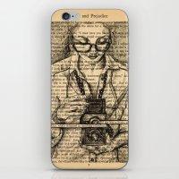 Pride & Prejudice, Page … iPhone & iPod Skin