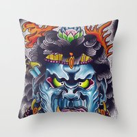 Fudo Throw Pillow