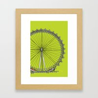 London Town - The Eye Framed Art Print