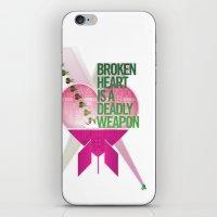 Broken Heart Is A Deadly… iPhone & iPod Skin
