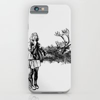 iPhone & iPod Case featuring caribou by Amylin Loglisci