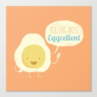 Most Eggcellent Canvas Print
