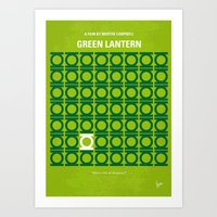 No120 My GREEN LANTERN M… Art Print
