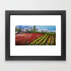 Tulips of the Skagit Framed Art Print