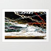 30 Secs Of Chaos Art Print