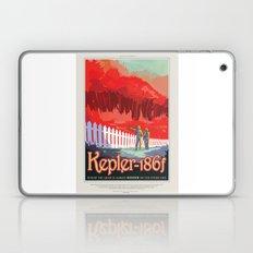 Kepler-186f - NASA Space Travel Poster Laptop & iPad Skin