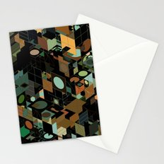 Panelscape: colours from KARMA CHAMELEON 3 Stationery Cards