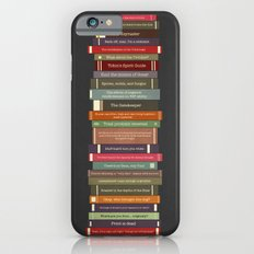 Ghostbusters stacked books iPhone 6 Slim Case