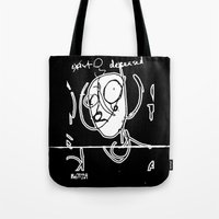 Exist And Deceased Tote Bag