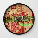 Brooklyn Wall Clock