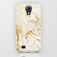 Gold Marble Galaxy S4 Slim Case