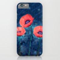 Poppy trio iPhone 6 Slim Case